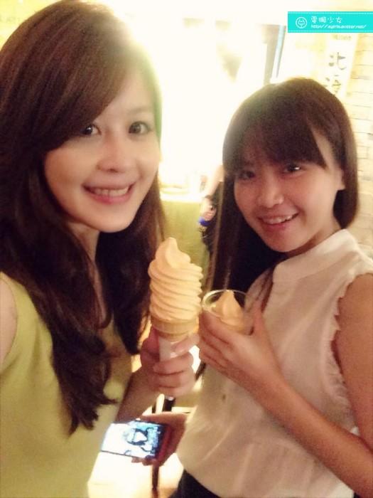 夕張哈密瓜霜淇淋